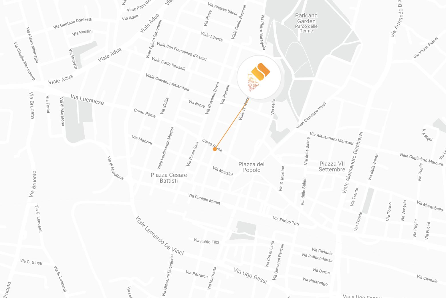 Mappa Montecatini Terme